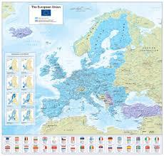 European Union Map The European Union 15 99 Cosmographics Ltd