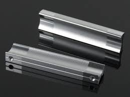 Chrome Kitchen Cabinet Knobs Free Shipping 64mm Aluminium Handles Modern Drawer Knobs Dresser