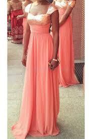 coral sequins chiffon wedding guest dresses bridesmaid dresses 3010240