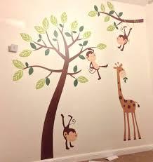 Monkey Decor For Nursery Vinyl Wall Nursery Thenurseries