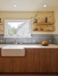 heath ceramics kitchen transitional with blue backsplash