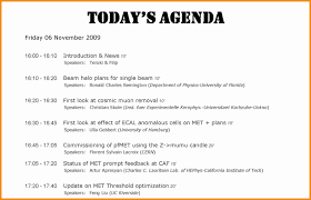 Sample Staff Meeting Agenda Template by How To Write An Agenda Thebridgesummit Co