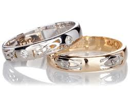 wedding bands celtic wedding rings