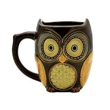 owl mug brown owl morning coffee ceramic mug cup