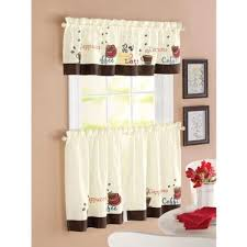 Fancy Kitchen Curtains by Better Homes And Gardens Kitchen Curtains Zandalus Net