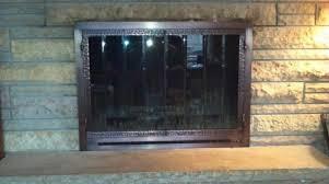 fireplace door glass replacement glass fireplace doors canada