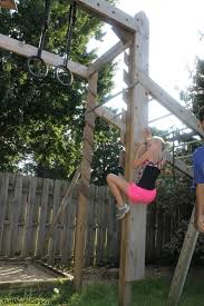 How To Build A Wooden Playset How To Build Your Own American Ninja Warrior Training Course