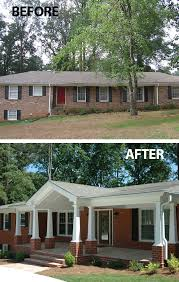 How To Decorate A Ranch Style Home Best 10 Painted Brick Ranch Ideas On Pinterest Painted Brick