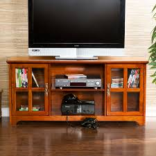 mission style media cabinet