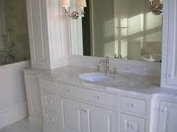 Bathroom Vanity Countertops Ideas by Bathroom Gorgeous Marble Bathroom Vanity Countertop With White