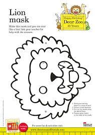 dear zoo u0026 friends dear zoo lion mask