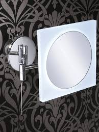 hib aries square led illuminated magnifying mirror 22400