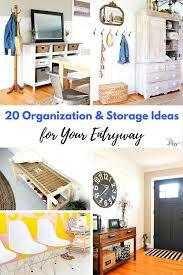 Entryway Solutions 20 Organization U0026 Storage Ideas For Your Entryway Hey Fitzy