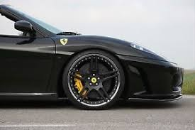 f430 wheels novitec nf3 matte black wheels with tires f430 and 360