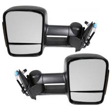 amazon com towing mirrors 2003 2007 chevy gmc silverado sierra