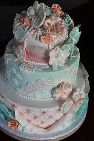 shabby chic wedding cake lace cake ruffle cake vintage cake