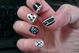 nail art unusual cool simple nail art pictures ideas gallery