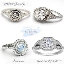 simple vintage engagement rings unique vintage engagement rings best day