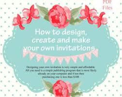 make your own invitations an invitation card paperinvite