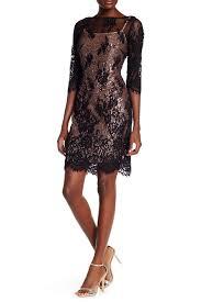 marina lace u0026 sequin two piece dress nordstrom rack