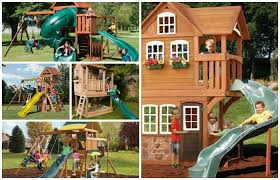 Big Backyard Playsets by 25 Big Kid Playhouses Your Kids Will Adore Nerdy Mamma