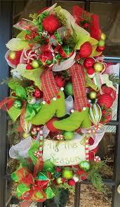 luxe wreath loaded deco mesh lime teardrop swag