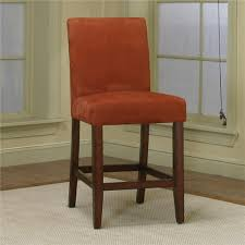 counter dining chairs counter height dining chair with brick micro suede fabric by