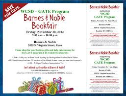 Barnes Noble Reno Nv Wcsd Gate Fundraising Gifted And Talented Education Program