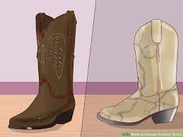 Comfortable Cowboy Boots For Walking How To Choose Cowboy Boots 14 Steps With Pictures Wikihow