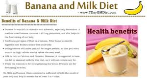 banana milk diet plan to lose weight lose 3 kgs in 4 days youtube