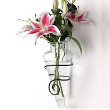 Flower Wall Sconces Sconces Vases Home Decoration Ideas Wall Vase Sconce The Finest