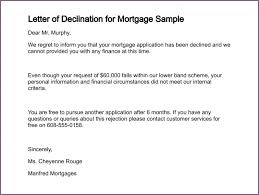 Decline Letter For Sle Decline Letter For Proposalsleletter