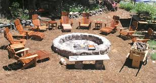 Bbq Tables Outdoor Furniture by Custom Fire Pits Designed To Cook On Open Pit Cookery Real