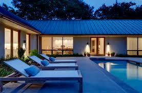house plans central courtyard pool house and home design