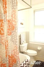 Orange Shower Curtains Orange Shower Curtains Teawing Co