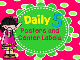 the daily five printables daily 5 printables and center signs by kreative in kindergarten tpt