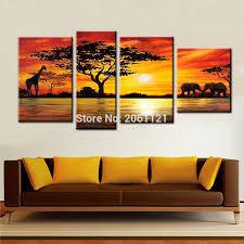 chambre style africain commentaires coucher du soleil africain peinture u2013 faire des