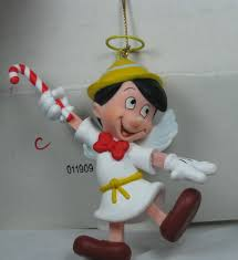 disney grolier pinocchio angel ornament christmas in box dca