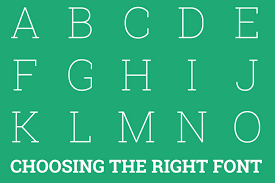 how to select the right fonts for your website blueprint