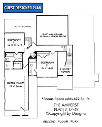 family room floor plans amherst house plan house plans by garrell associates inc