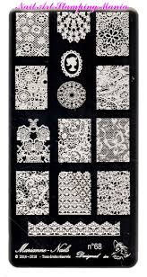 44 best marianne nails stamping plates images on pinterest