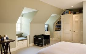 attic window bedroom traditional with child s rod pocket curtain