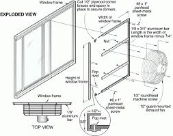 basement window exhaust fan