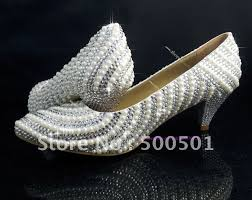 where to buy wedding shoes aliexpress buy 2 inch low heel wedding shoes pearl swarovski