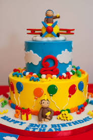 Halloween First Birthday Cakes by Curious George Birthday Cake Angie Cakes Pinterest Curious