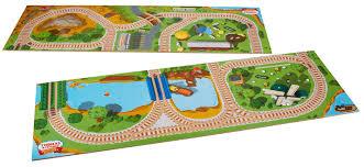 thomas the train wooden table amazon com fisher price thomas the train wooden 2 in 1 playboard