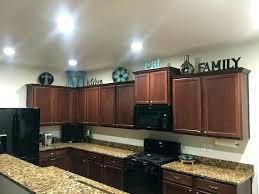 top of kitchen cabinet decor ideas top kitchen cabinet decorating ideas charming above above cupboard