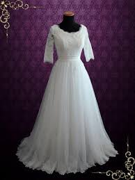 Modest Wedding Dress Modest Wedding Dresses Ieie Bridal