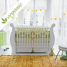 Organic Crib Bedding by New Gots Organic Sailing Collection 2pc Crib Set Box Pleat