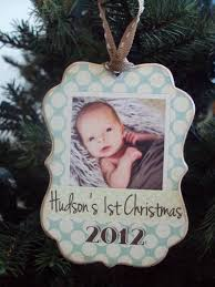 baby s ornament wooden ornament wood